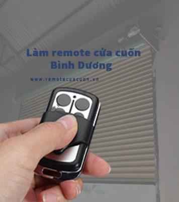 Lam Remote Cua Cuon Binh Duong