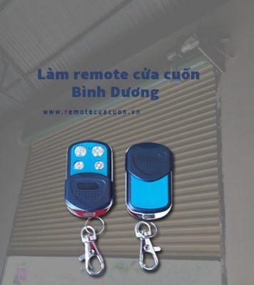 Lam Remote Cua Cuon Binh Duong Di An