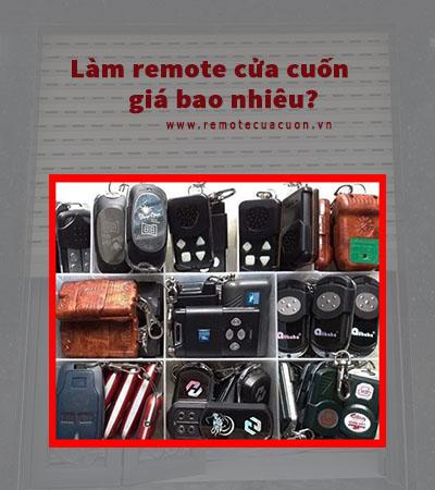 Lam Remote Cua Cuon Gia Bao Nhieu Tien
