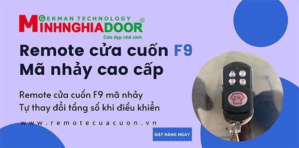 Remote Cửa Cuốn đài Loan Ch F9