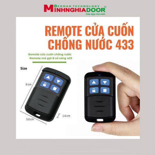 Remote Cua Cuon Ma Gat Chong Nuoc